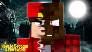 Minecraft Adventure - HOW TO BECOME A WEREWOLF AT HALLOWEEN!