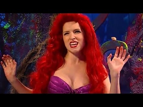 Anna Kendrick Disses Selena Gomez, Britney Spears & Kesha - Little Mermaid SNL Skit VIDEO!