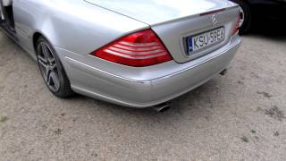 Mercedes Benz CL 500 W215 5.0 V8