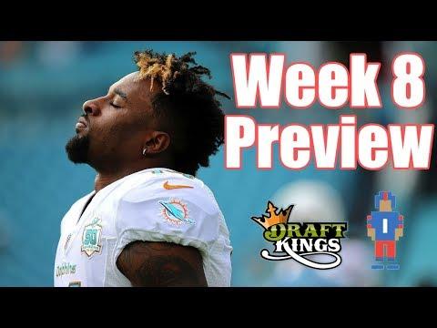 NFL Week 8 Preview & Picks - DraftKings