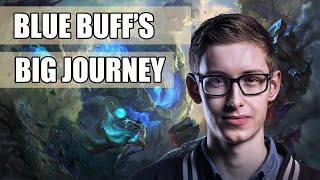 [SPOILER] Bjergsen kidnaps the blue buff and takes him on a journey! | TSM vs Origen S5 Worlds!