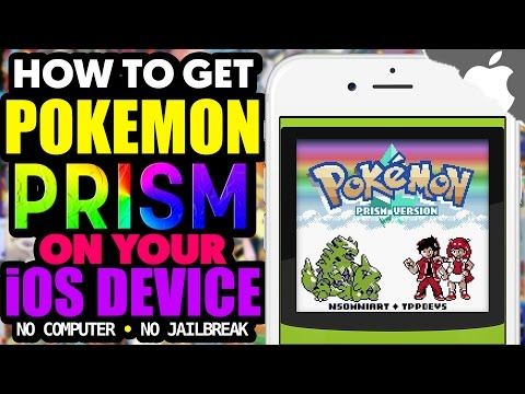 How to Get Pokemon PRISM Rom Hack on your iOS Device! (NO COMPUTER) (NO JAILBREAK) iPhone iPad iPod