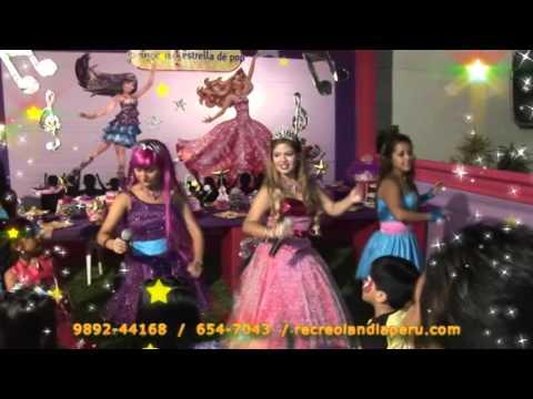 Show Infantil Barbie y La Estrella del Pop - Recreolandia 1