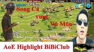AoE Highlight BiBiClub || Siêu Phẩm Song Cá Vượt Vũ Môn