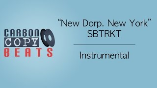 New Dorp. New York - Instrumental / Karaoke (In The Style Of SBTRKT)
