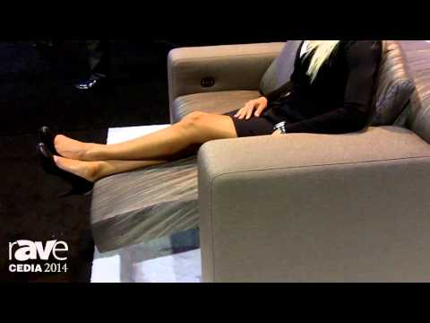 CEDIA 2014: CINEAK Unveils the Strato Modular Sofa System for Home Theaters