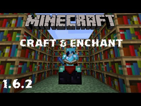 Minecraft: Craft & Enchant Mod Review 1.6.2