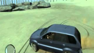 GTA 4 { Sand Drift ] gameplay on nvidia geforce 210