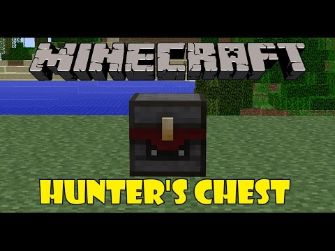 HUNTER'S CHEST MOD - Cofres infinitos - Minecraft mods 1.6.4 review en español