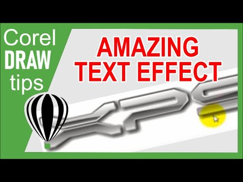 Text Effects in CorelDraw