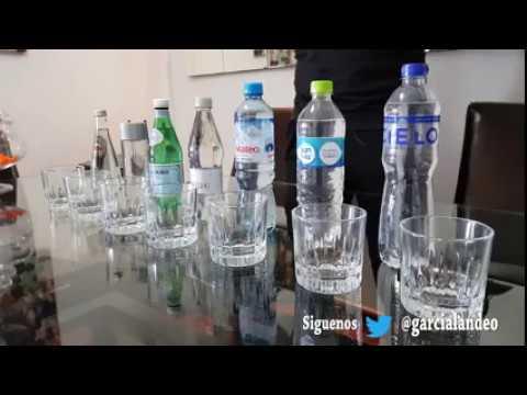 Prueba de agua Alcalina o Ácida