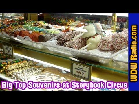 Big Top Souvenirs and Treats at Storybook Circus in Walt Disney World
