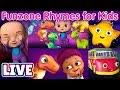 Peek a Boo Song & Many More Baby Songs & 3D Nursery Rhymes by ChuChu TV – LIVE Stream MP3