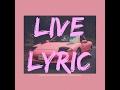 PINK GUY - FURR (LIVE LYRIC VIDEO)