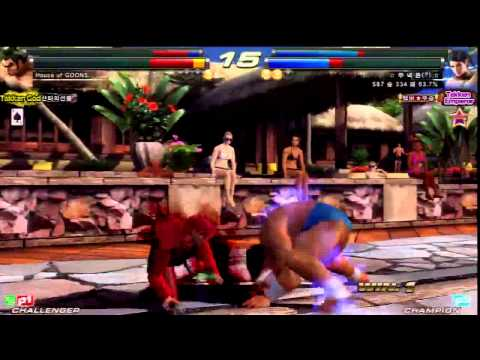 TEKKEN TAG2 UL 5/1 SAINT VS KNEE -TEKKEN GOD