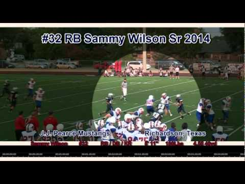 3rd Coast Recruiting - Sammy Wilson - Sr 2014 (Varsity Red) Football Highlights