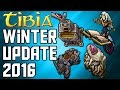 [Tibia Winter Update 2016] Imbuing, Pray for Prey & Forgotten Knowledge Questline!