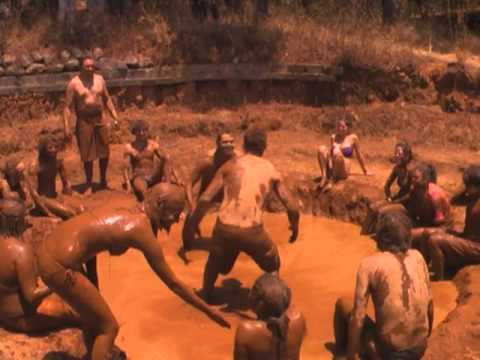 nude mud wrestling video
