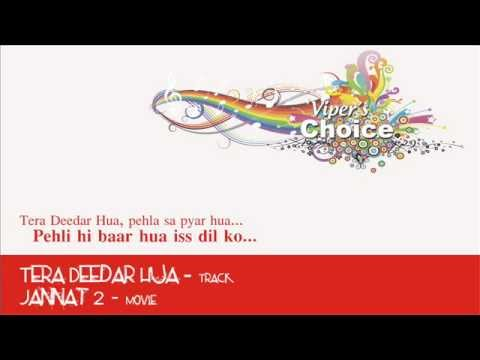 Tera Deedar Hua (From the Heart) - Jannat 2