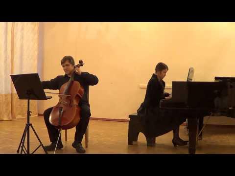 Кюи, Цезарь - 2 пьесы для виолончели и фортепиано