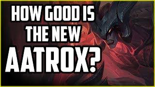 HOW GOOD IS THE NEW AATROX? Aatrox 1v5 Intermediate Bots - League of Legends