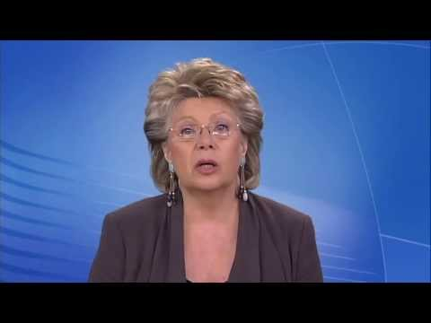 Viviane Reding on Child Helpline International