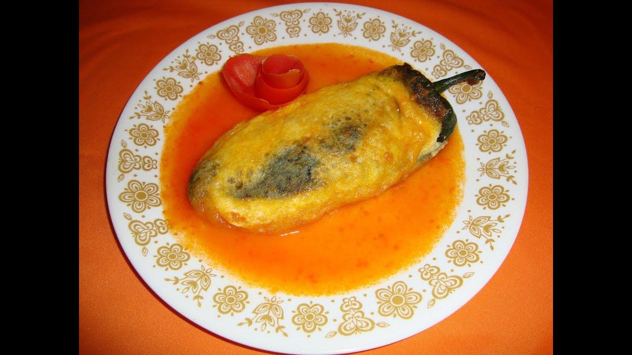 RECETA DE LOS CHILES RELLENOS PARTE 1/2 - La receta del abuelita ...