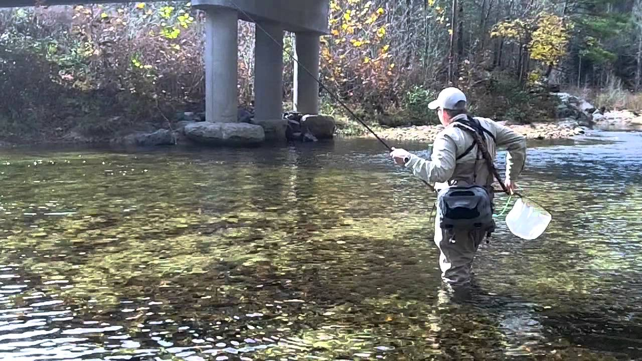 Tenkara fly fishing wilson creek youtube for Fishing in nc