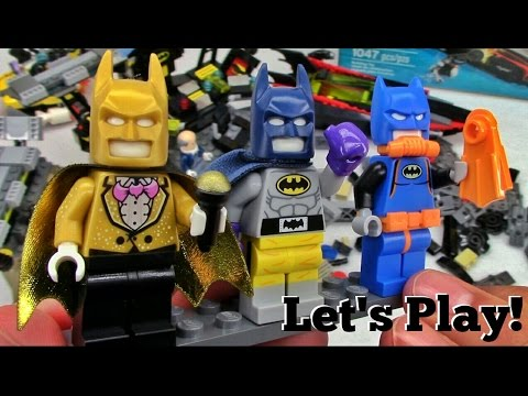 THE LEGO BATMAN MOVIE: Batcave Break-in 70909 - Let's Play!