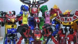 파워레인저 다이노포스 엔진포스 캡틴포스 로봇 장난감 Power Rangers Dino Charge RPM Super Megaforce Megazord Toys