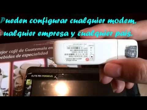 Como usar modem usb 3g en tablet sin necesidad de configurar apn manualmente.