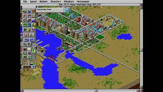Classic Games 2: SimCity 2000 (New YouTube City Pt.7) Yes, I'm Back At It!!!