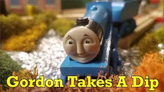 Gordon Takes A Dip | Thomas & Friends Full Wooden Railway Remakes