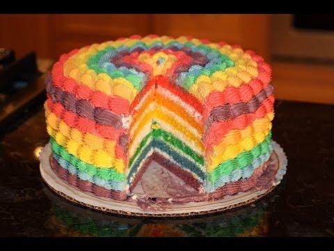 Decorating Ice Cake Youtube