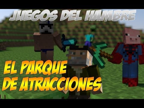 EL PARQUE DE ATRACCIONES | JUEGOS DEL HAMBRE CON ALEX Y WILLY