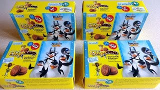 2016 The Penguins of Madagascar Surprise Caps - Pogs Collection in Chipicao Croissant & Biscuit