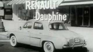 Renault Dauphine Classic TV Commercial (1958)