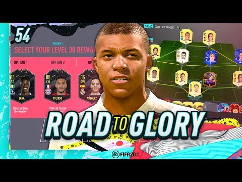 FIFA 20 ROAD TO GLORY #54 - LEVEL 30 REWARD!!