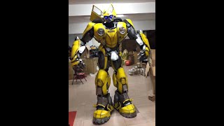 Transformateur de costumes Adult Transformer  Bumblebee Beetle Costume for Entertainment Advertising