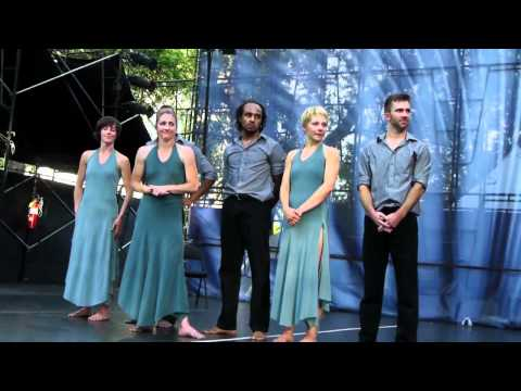 Ririe-Woodbury Dance Company at 2012 Utah Arts Festival - West (Johnny Cash and others)
