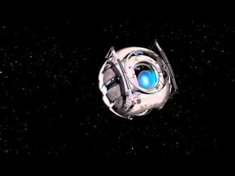 Portal 2 Wheatley Apologizes While Stuck in Space