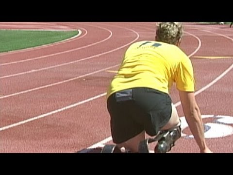 Double Amputee Races To Win Olympic Gold video