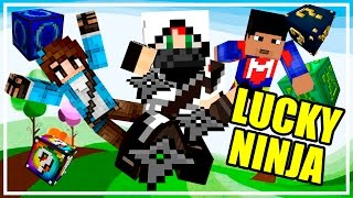 LUCKY BLOCKS! | Batalla de Shuriken! c/ Elyas y Sylkeka | Lady Boss