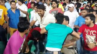Indian Premier League Fights - Cricket fans Fight For Seat DD vs KXIP
