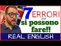 Anche NOI 'NATIVE SPEAKERS' facciamo gli ERRORI - REAL ENGLISH!!