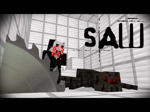 THE SAW | MONSTER SCHOOL | MINECRAFT ANIMATIONS
