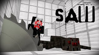 The Saw Monster School Minecraft Animations