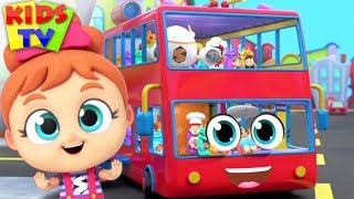 Wheels on the Bus | Super Supremes | Kids Songs & Nursery Rhymes for Babies