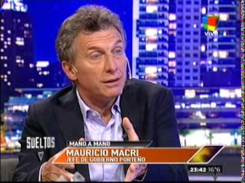 Fantino mano a mano con Mauricio Macri - Parte 1