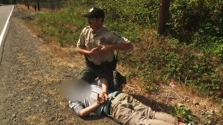 Subject Resists Arrest, Chased Down by Fish and Wildlife Officer